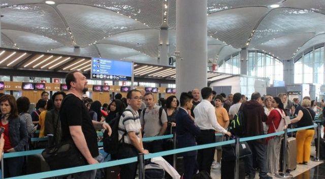 Yabancı ziyaretçi sayısı yüzde 16,67 arttı