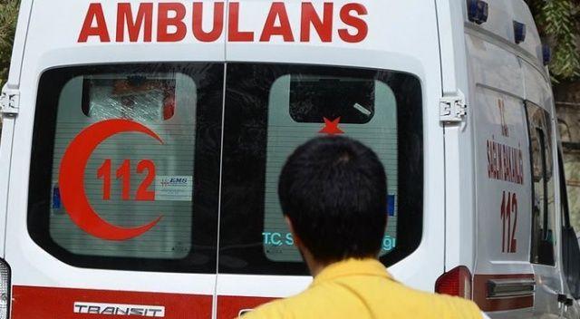 Yola döşenen patlayıcının infilak etmesi sonucu 2 işçi yaralandı