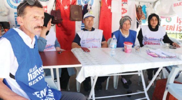 Yüz günlük çadır eyleminden sonuç çıkmadı, İşçiler açlık grevine başlıyor