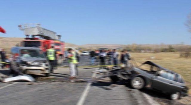 Zara'da trafik kazası: 1 ölü, 3 yaralı