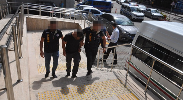 Zonguldak'ta yakalanan bankamatik faresi tutuklandı