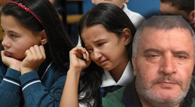 4-C sınıfında acı gün... Gözyaşlarına boğuldular