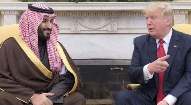 ABD Başkanı Trump Suudi Veliaht Prens bin Selman'la görüştü