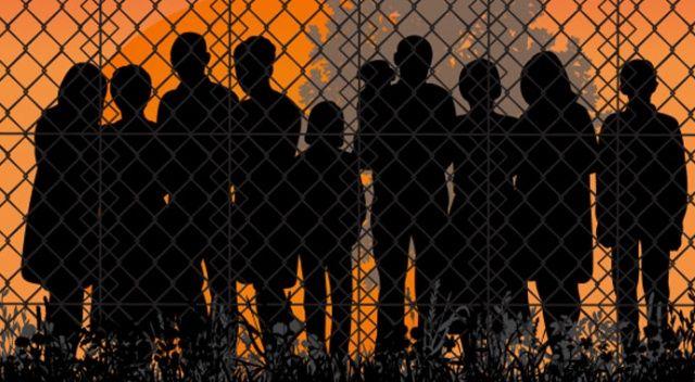 Ayvalık'ta 38 düzensiz göçmen yakalandı