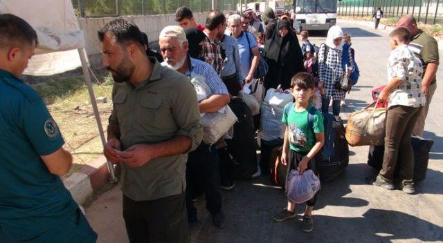 Bayramı ülkesinde geçiren 37 bin Suriyeli, Türkiye'ye döndü