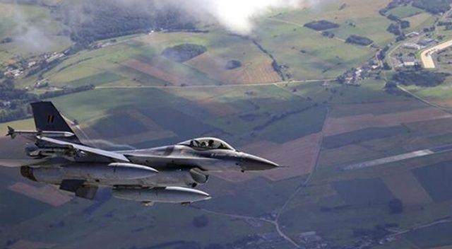 Belçika Hava Kuvvetleri'ne ait F-16 düştü