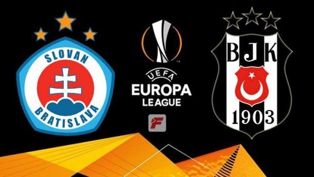 Beşiktaş Slovan Bratislav maçı saat kaçta, hangi kanalda? (BJK Bratislav skor kaç kaç)