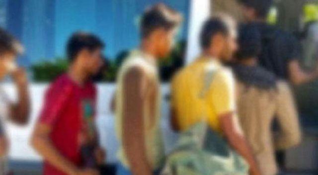 Çanakkale'de 140 düzensiz göçmen yakalandı