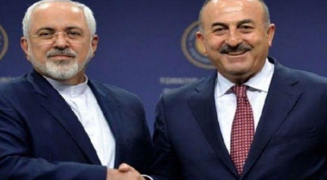 Çavuşoğlu, İran Dışişleri Bakanı ile görüştü