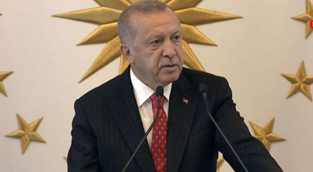 Cumhurbaşkanı Erdoğan'dan ABD'ye güvenli bölge mesajı