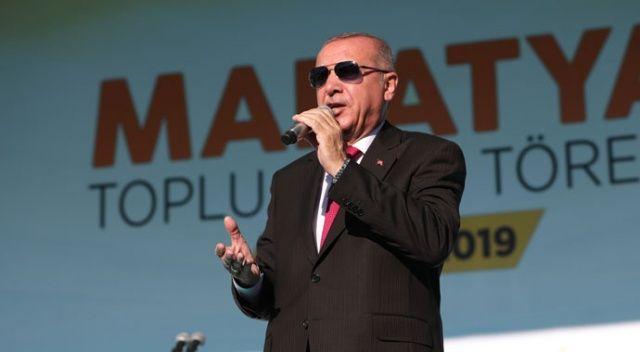 Cumhurbaşkanı Erdoğan: Direnişleri Kandil'e diz çöktürecek!