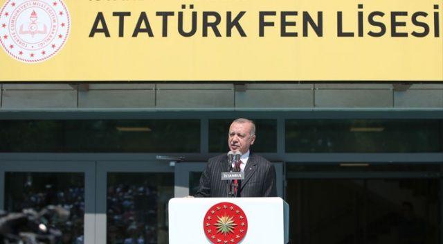 Cumhurbaşkanı Erdoğan: Kayıp nesiller yetiştirdik