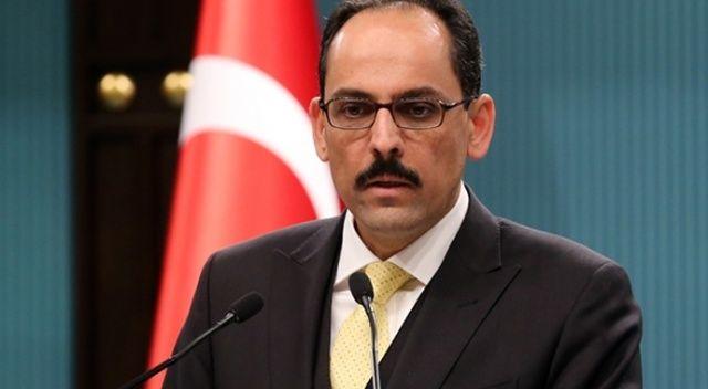Cumhurbaşkanlığı Sözcüsü Kalın'dan güvenli bölge açıklaması