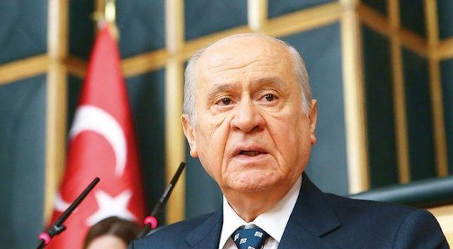 Devlet Bahçeli: 'Gazilerimize hürmet etmek yerine teröristlerden himmet bekleyenler iş birlikçidir'
