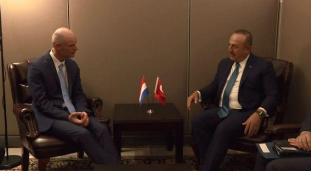 Dışişleri Bakanı Çavuşoğlu'nun New York mesaisi