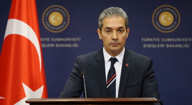 Dışişleri Sözcüsü Aksoy'dan Güney Kıbrıs Rum Yönetimi'ne tepki