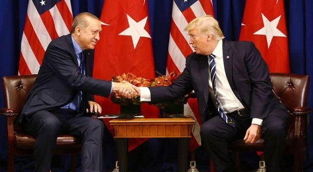 Donald Trump'tan Erdoğan'a 'Brunson' teşekkürü