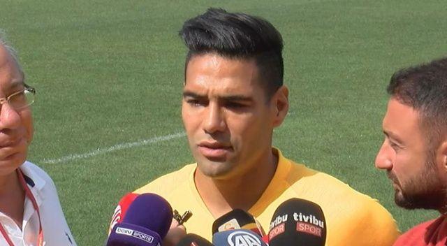 Falcao, Galatasaray'ı neden tercih ettiğini açıkladı