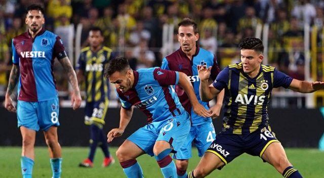 FB Trabzon maçı kaç kaç bitti? Fenerbahçe Trabzon maç özeti