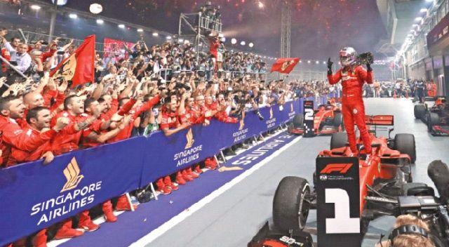 Ferrari rüzgârı!