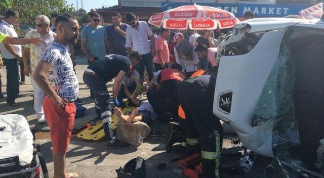 Fethiye'de trafik kazası: 6 yaralı