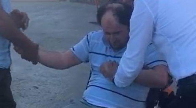 FETÖ'nün 'mahrem abisi'nden polisi görünce şoka girme numarası