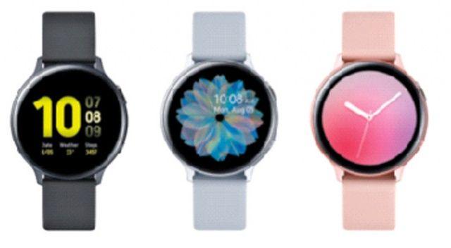 Galaxy Watch Active2 elbisenin rengine göre şekil değiştiriyor