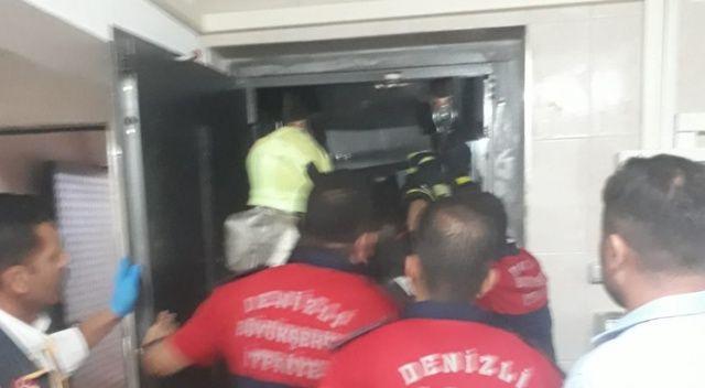 İş yerinin asansörüne sıkışan çocuk hayatını kaybetti