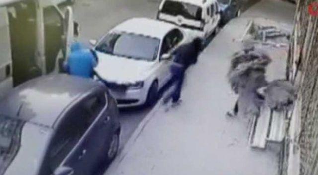 İstanbul'un farklı ilçelerinde hırsızlık yapan suç makineleri kamerada
