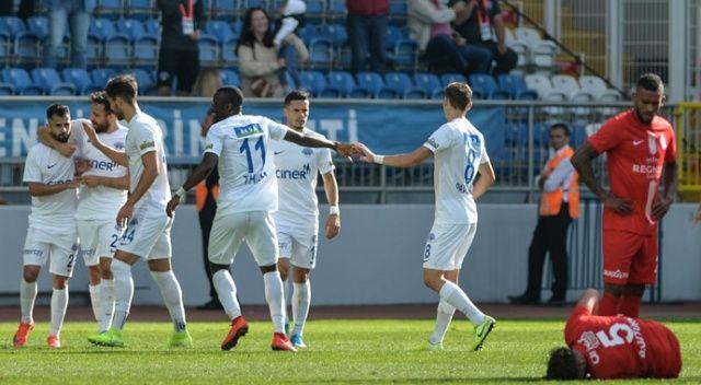 Kasımpaşa, Antalyaspor'u 3 golle geçti