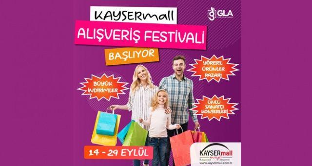 KAYSERmall'dan Sonbahar Alışveriş Festivali