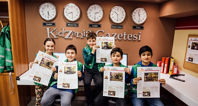 KidZania Türk Dil Bayramı'nı kelime oyunlarıyla kutlayacak