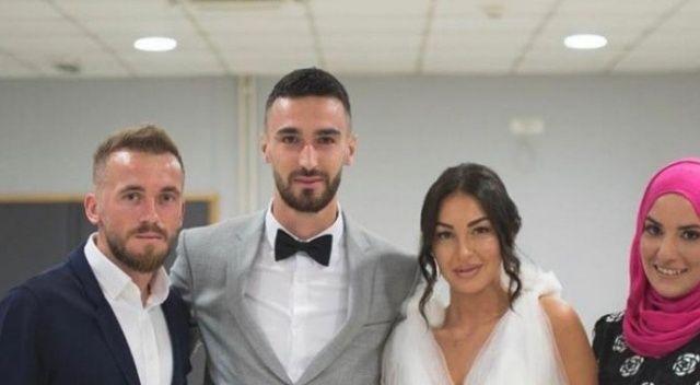 Konyasporlu Bajic dünya evine girdi