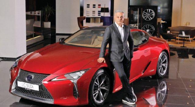 Lexus LC 500h  festivalde tanıtıldı