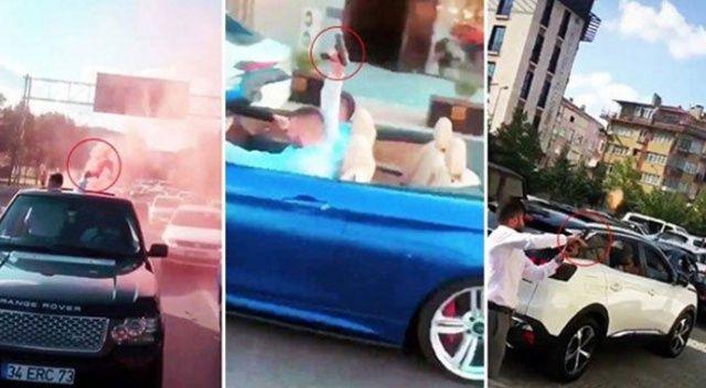 Lüks araçlarla dehşet saçmışlardı! 6 maganda tutuklandı