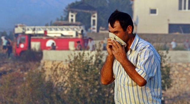 Mahalleyi dumanlar kapladı, vatandaşlar nefes almakta zorlandı