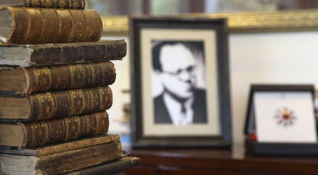 Meriç'in kütüphanesi Cumhurbaşkanlığında