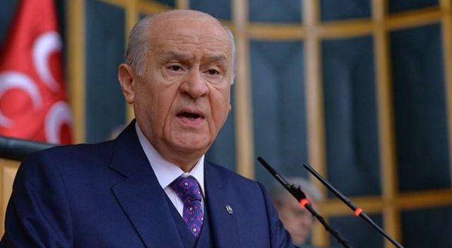 MHP Lideri Bahçeli'den CHP'ye tepki