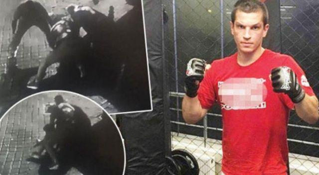 Milli sporcunun işlediği cinayettin yeni görüntüleri ortaya çıktı