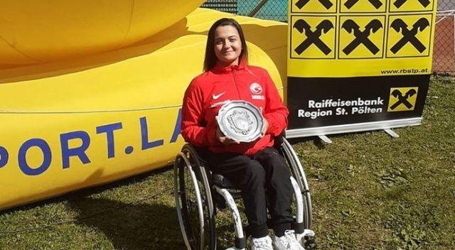 Paralimpik tenisçi Büşra Ün Avusturya'da şampiyon oldu