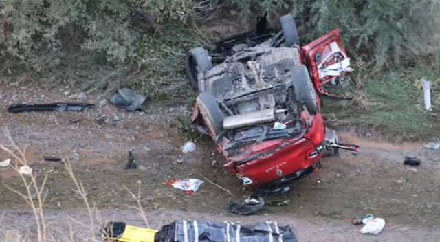 Sivas'ta feci kaza: 2 ölü 6 ağır yaralı