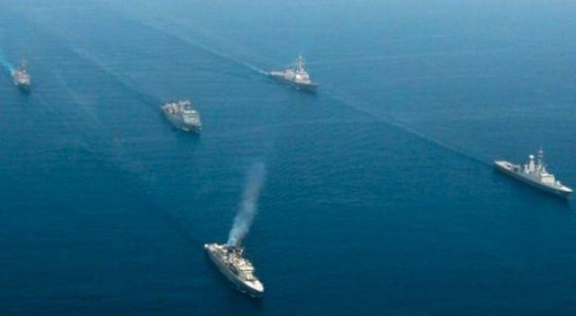 Suudi Arabistan'dan Kızıldeniz'e kıyısı olan ülkelerle ortak tatbikat