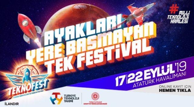 TEKNOFEST 2019 Atatürk Havalimanı'nda