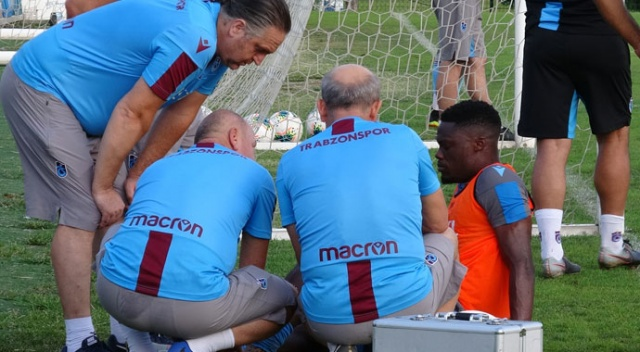 Trabzonspor'da Ekuban şoku: 2 ay sahalardan uzak kalacak