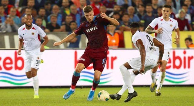 Trabzonspor, Gençlerbirliği ile 2-2 berabere kaldı