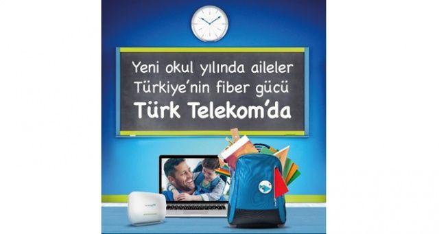 Türk Telekom'da yeni eğitim öğretim yılına özel kampanya