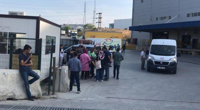Tuzla Anadolu Yakası posta dağıtım merkezinde şüpheli toz paniği