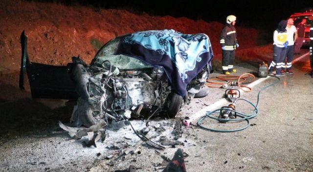Yozgat'ta feci kaza: 1 uzman onbaşı hayatını kaybetti, 2 kişi yaralandı
