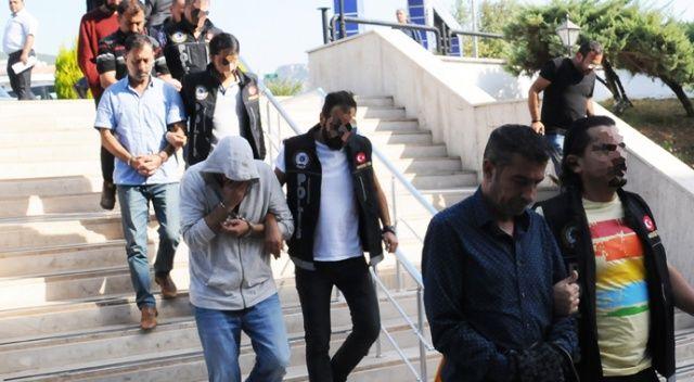 120 milyon TL'lik uyuşturucu zanlıları tutuklandı