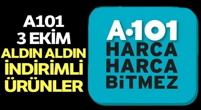 A101 Kataloğu Bu Hafta 3-10 Ekim | A101 3 Ekim Perşembe 2019 Kataloğu | A101 indirimleri 3 Ekim ALDIN ALDIN!